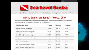 Sea Level Scuba